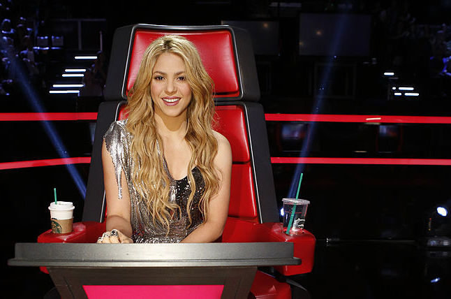 Shakira on 'The Voice'