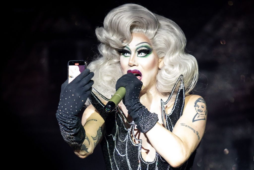 Sharon Needles performs onstage