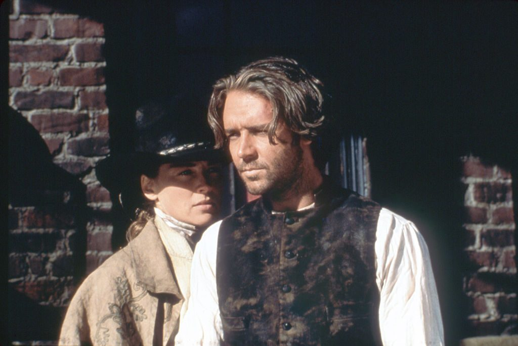 Sam Raimi's The Quick and the Dead: Sharon Stone and Russell Crowe