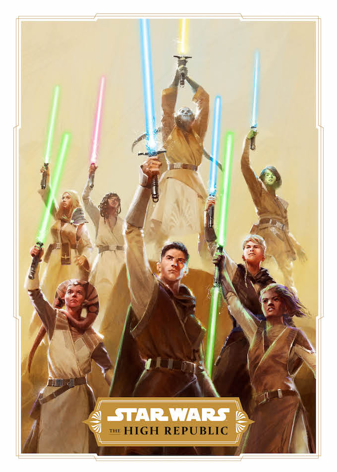 The 'Star Wars' Project Luminous poster.