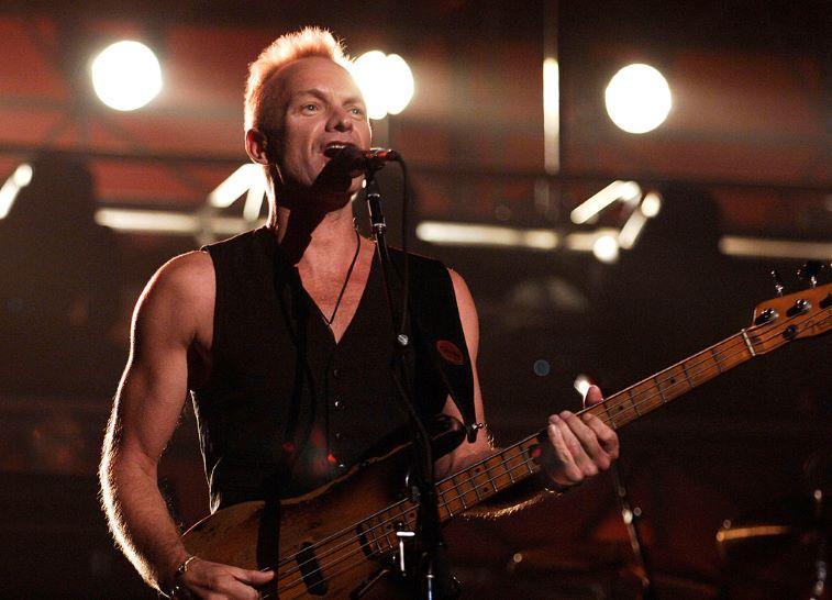 Sting performing 'Roxanne'
