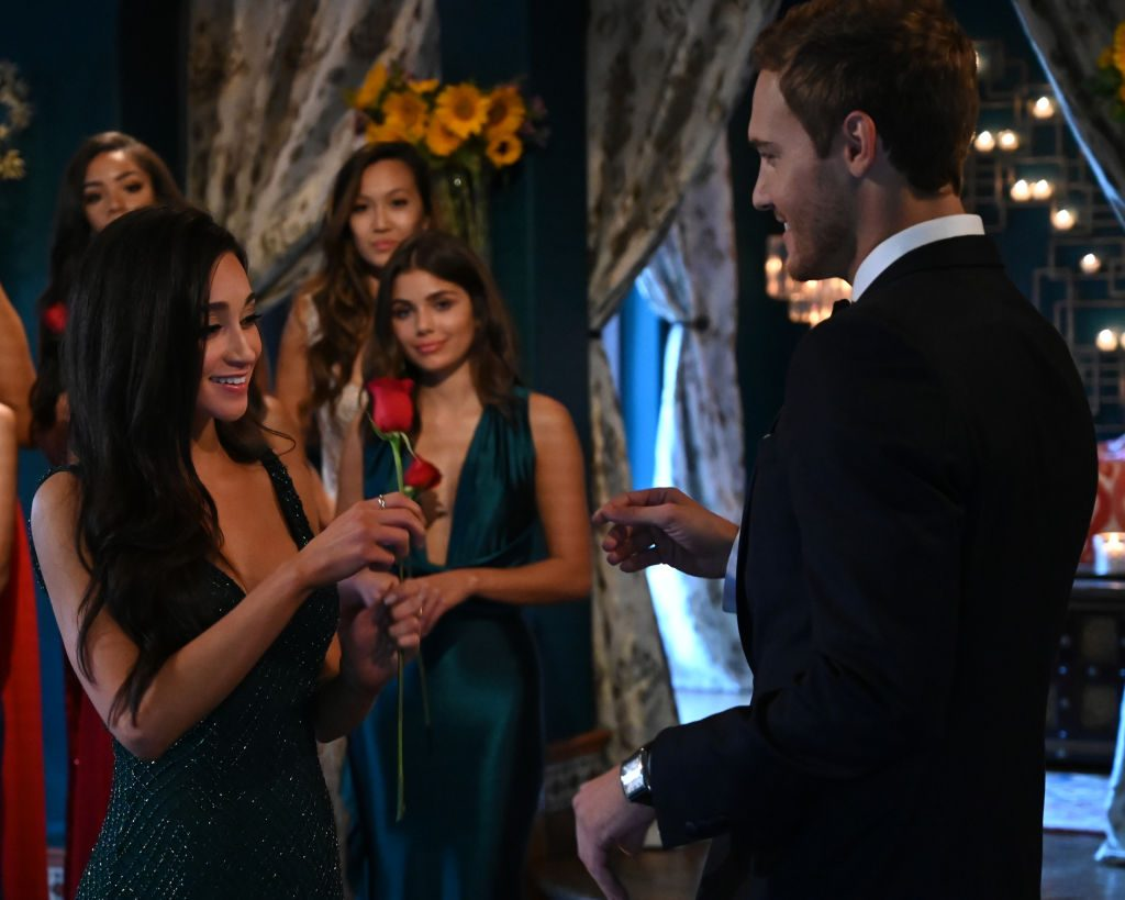 Peter Weber and Victoria F. on 'The Bachelor'
