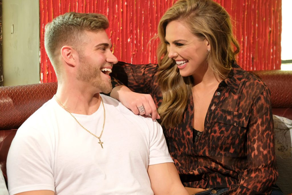 Hannah Brown and Luke Parker on 'The Bachelorette'