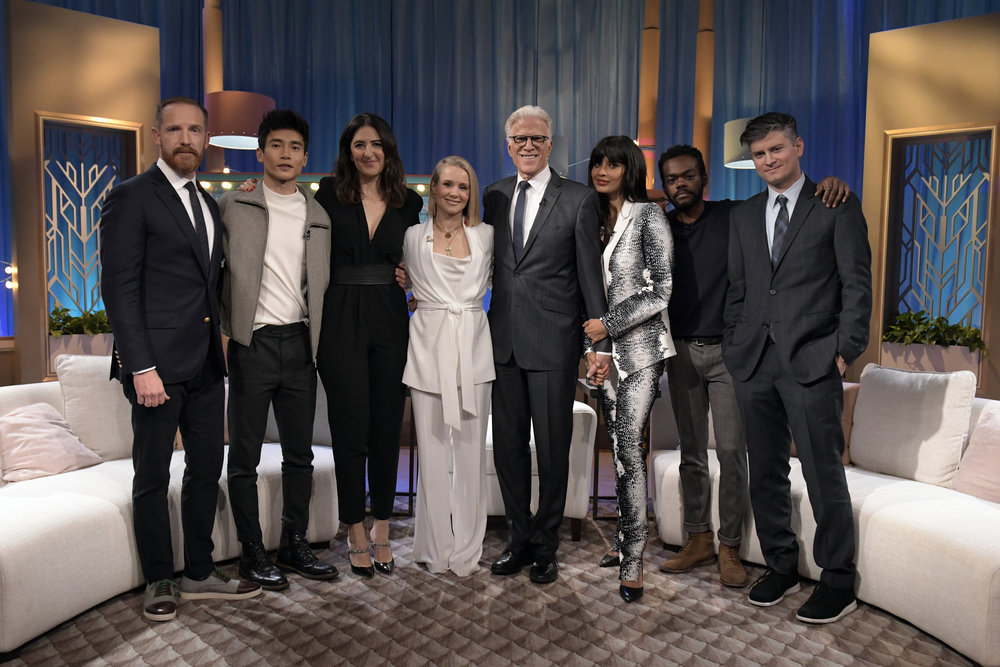 cast of the good place