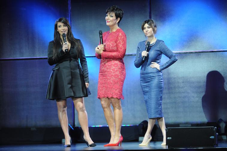 Kris Jenner, Kourtney Kardashian, Khloe Kardashian and Kim Kardashian