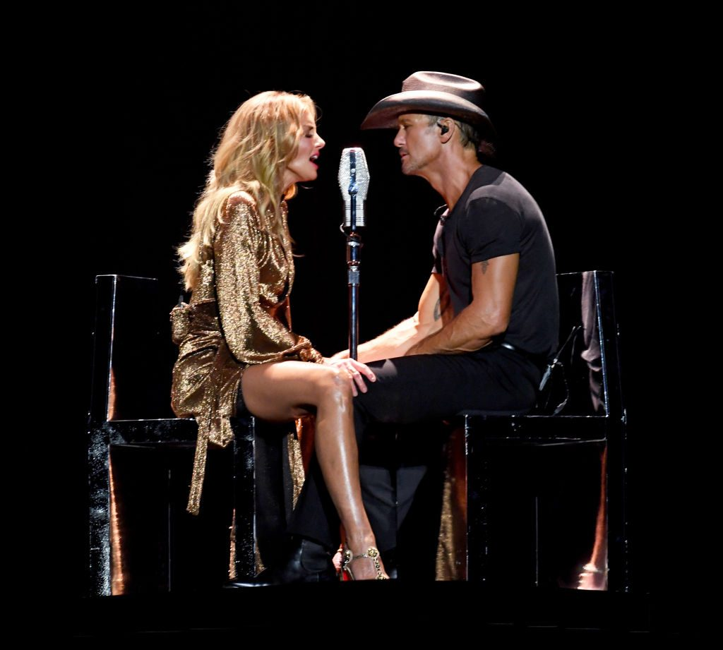 Tim McGraw and Faith Hill