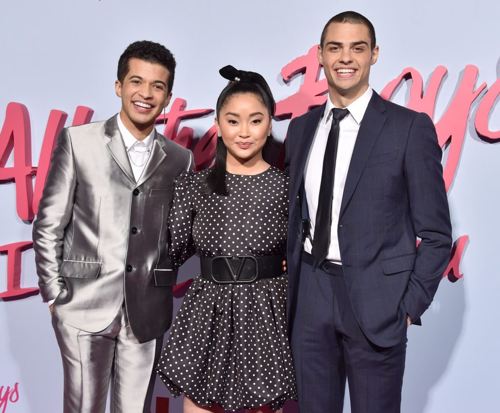 """Jordan Fisher, Lana Condor, and Noah Centineo Of Netflix's """"To All The Boys: P.S. I Still Love You"""""""