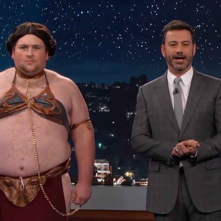 Tommy Bechtold and Jimmy Kimmel