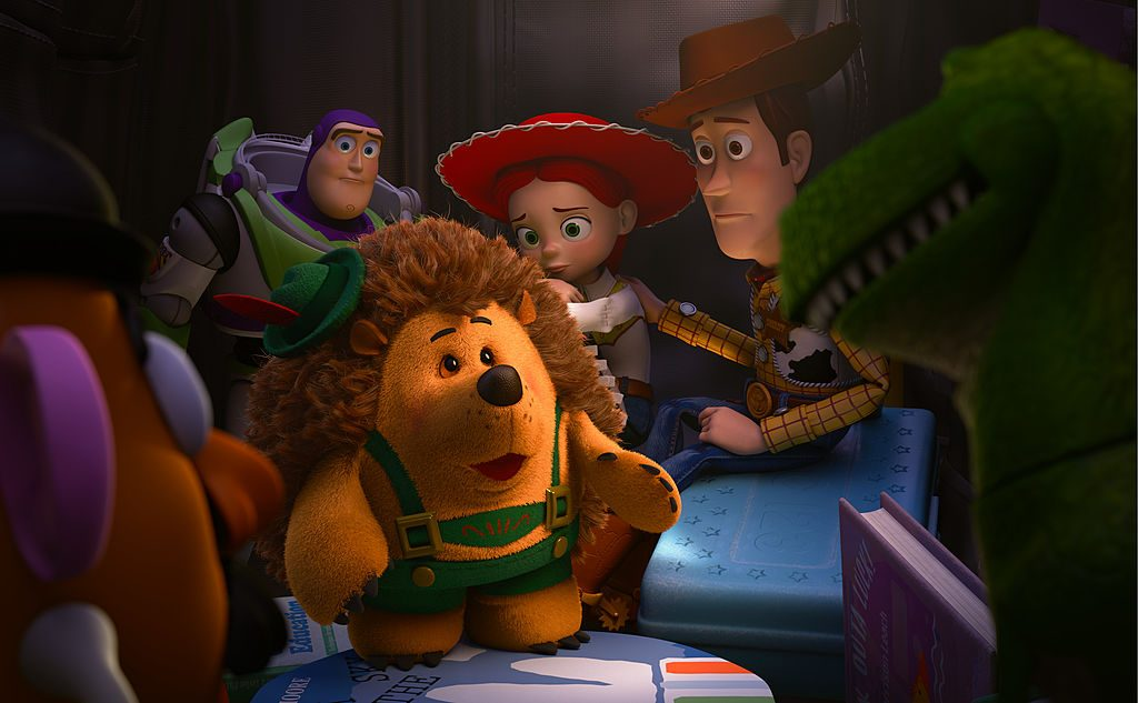 Woody, Jessie, and other characters from 'Toy Story 4'