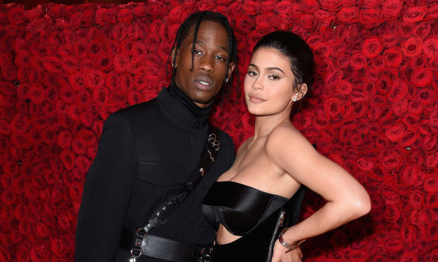 Travis Scott and Kylie Jenner at the 2018 Met Gala