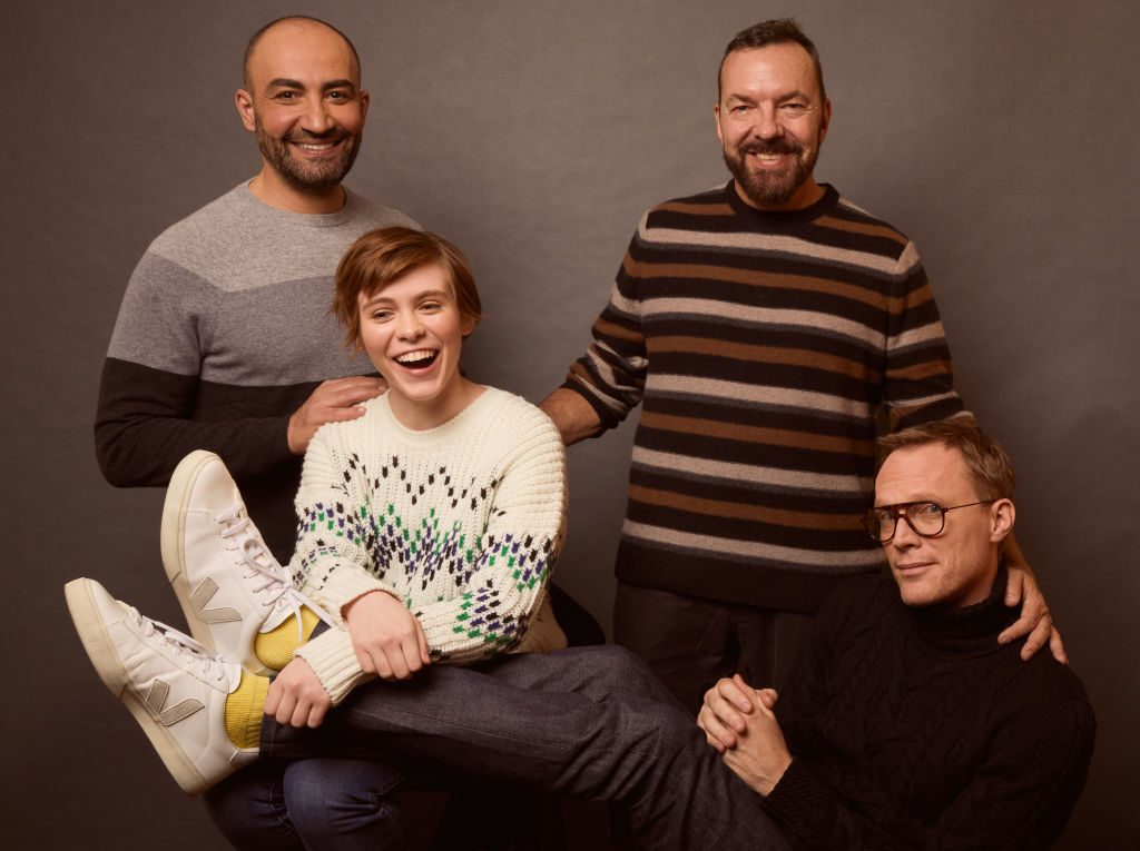 Paul Bettany, Sophia Lillis, Peter Macdissi and Alan Ball