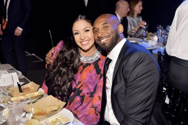 Vanessa Bryant and Kobe Bryant at the 2019 Baby2Baby Gala. on Nov. 9, 2019