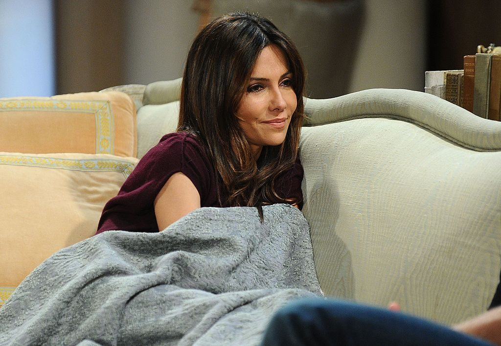 Vanessa Marcil on 'General Hospital' in 2010
