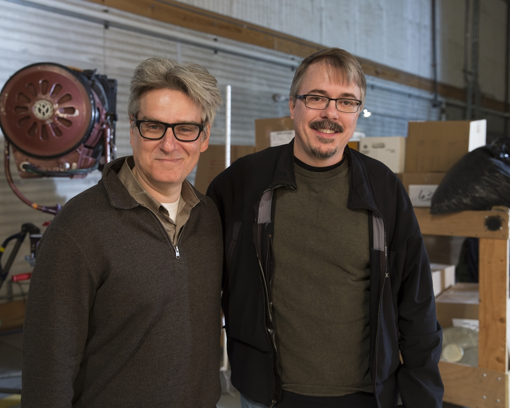 Peter Gould and Vince Gilligan