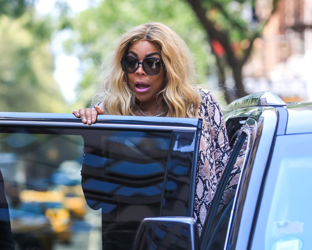 Wendy Williams is seen leaving her TV Show on July 16, 2019