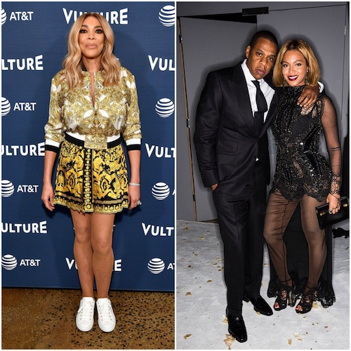 Wendy Williams; Beyoncé and Jay Z