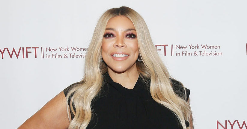 Wendy Williams at an award show in 2019