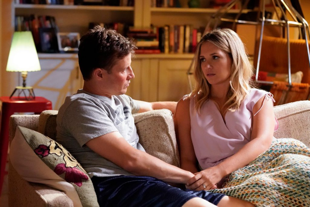 Will Estes and Vanessa Ray on Blue Bloods |  John Paul Filo/CBS via Getty Images
