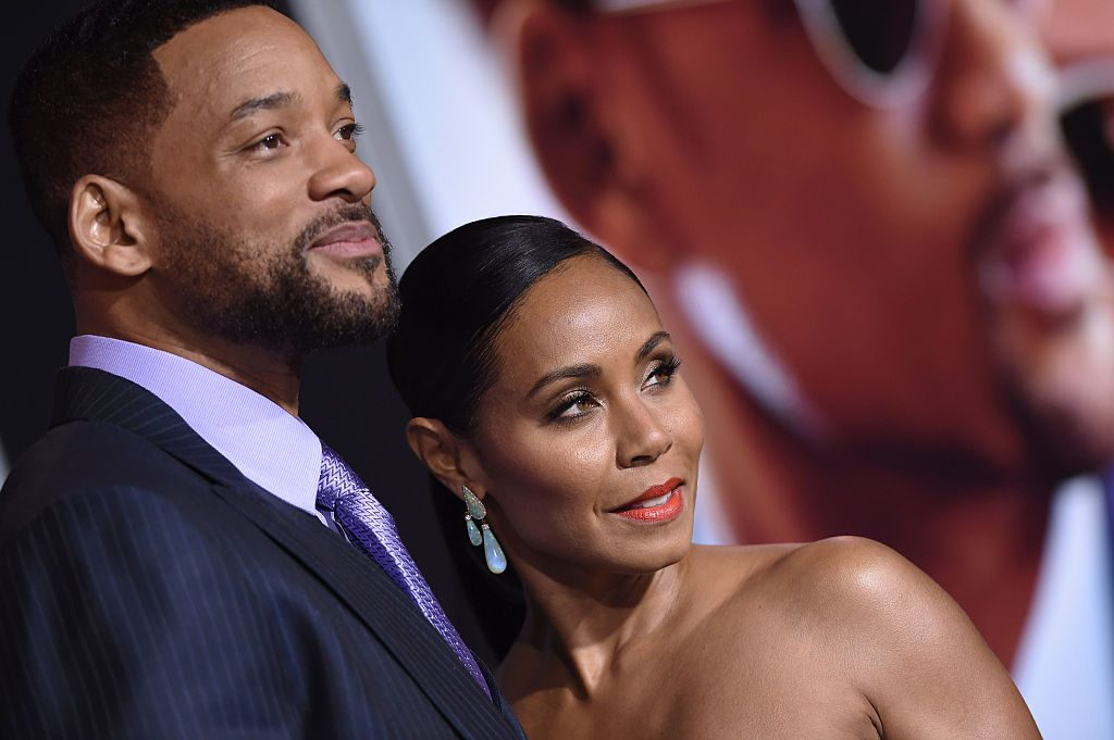 Will Smith and Jada Pinkett Smith on the red carpet in 2015