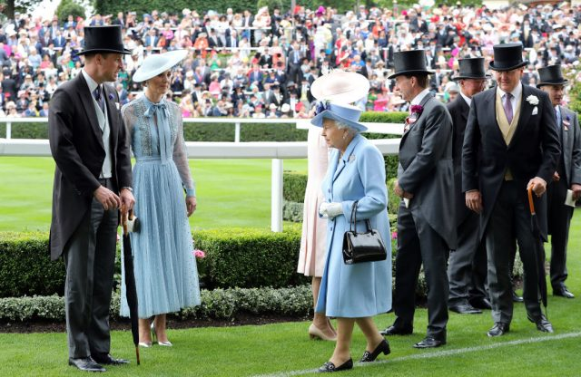 William Kate Queen Elizabeth Royal Ascot