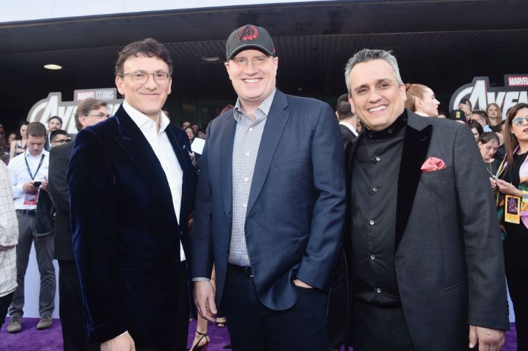 Director Anthony Russo, President of Marvel Studios/Producer Kevin Feige and Director Joe Russo