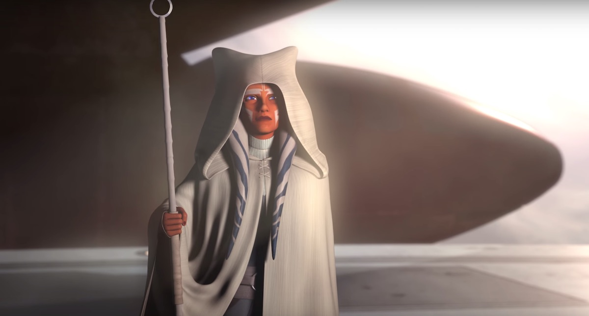 Ahsoka Tano in the epilogue of 'Star Wars Rebels.'