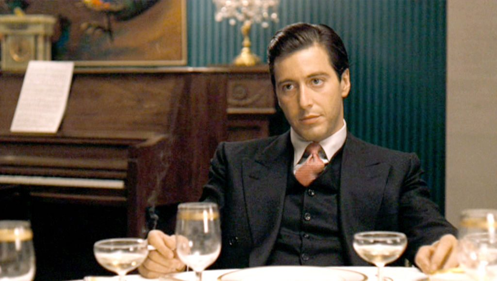 Al Pacino in the The Godfather