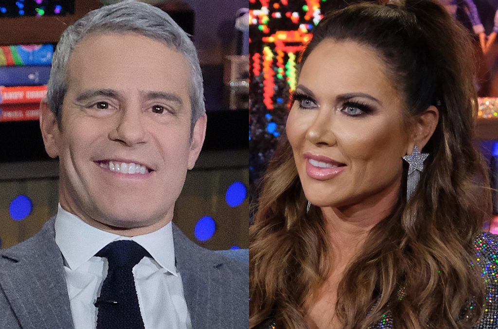 Andy Cohen and LeeAnne Locken