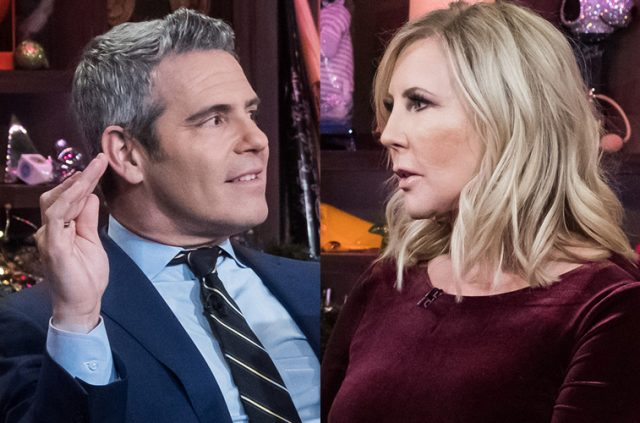 'RHOC': Andy Cohen Reveals Relationship Status With Vicki Gunvalson After Diss and Exit