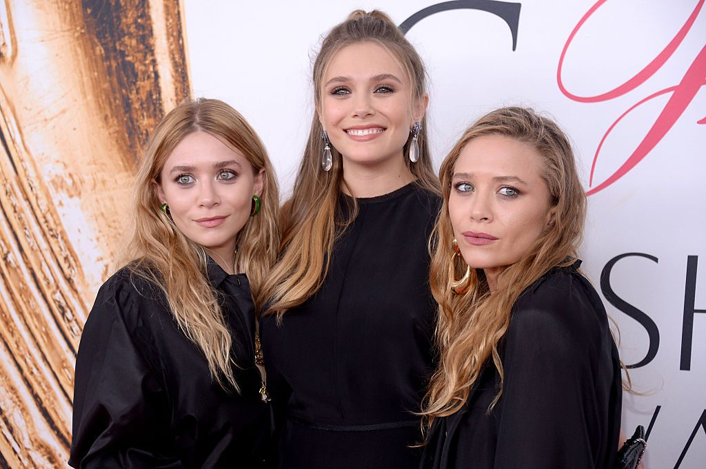 Ashley, Elizabeth, and Mary-Kate Olsen attend the 2016 CFDA Fashion Awards on June 6, 2016 in New York City.