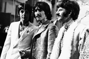 Why Did Cameras Avoid George Harrison During His Live 'All You Need Is Love' Guitar Solo?