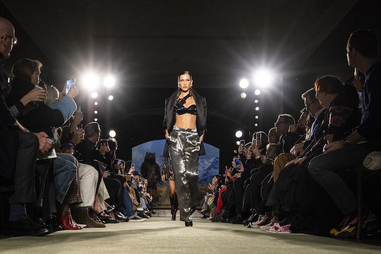 Bella Hadid walks the runway
