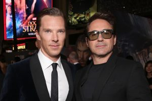 Will Benedict Cumberbatch Pay Tribute to Robert Downey Jr's Iron Man in 'Doctor Strange In the Multiverse of Madness'?