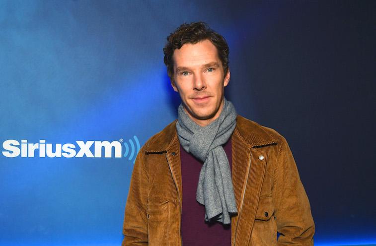 Benedict Cumberbatch on the red carpet