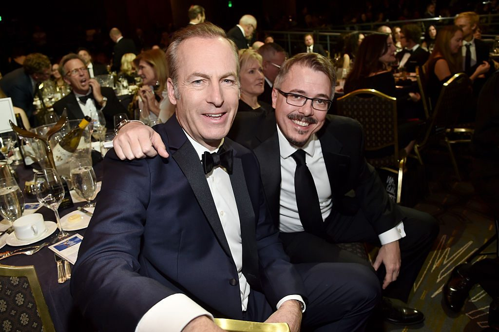Bob Odenkirk and Vince Gilligan of Better Call Saul