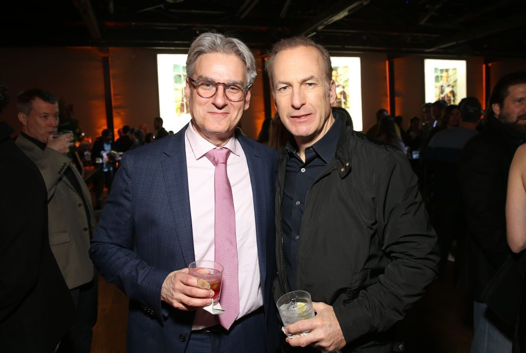 Peter Gould and Bob Odenkirk of Better Call Saul