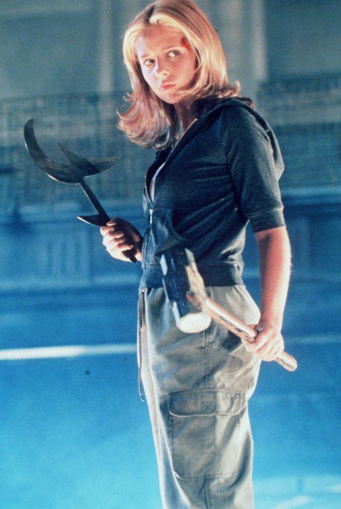 Sarah Michelle Gellar as Buffy Summers 'Buffy The Vampire Slayer,' Season 3.