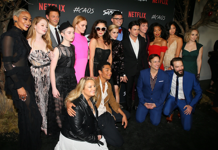 Cast of 'Chilling Adventures of Sabrina'