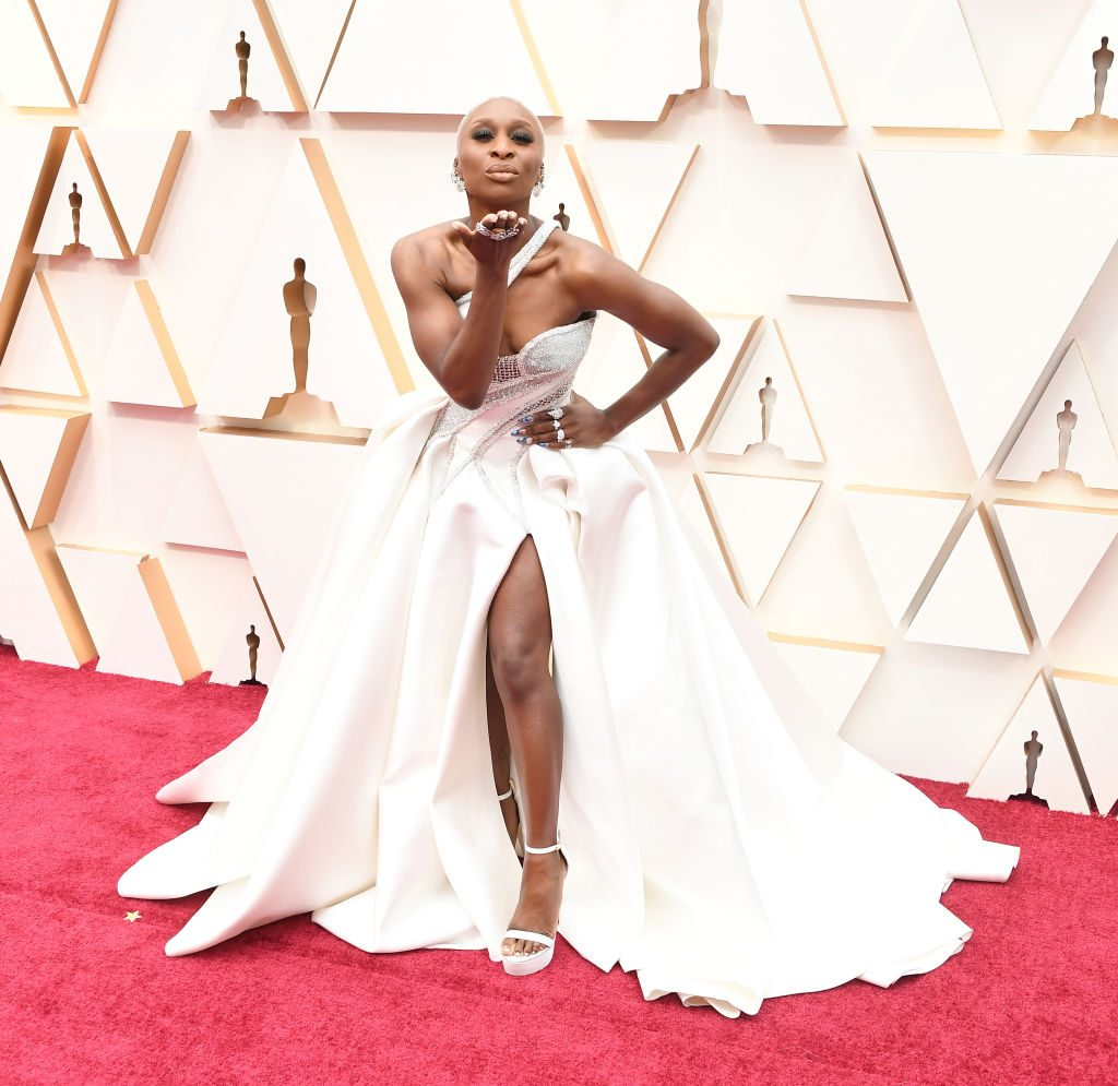 Cynthia Erivo arrives at the 92nd Annual Academy Awards