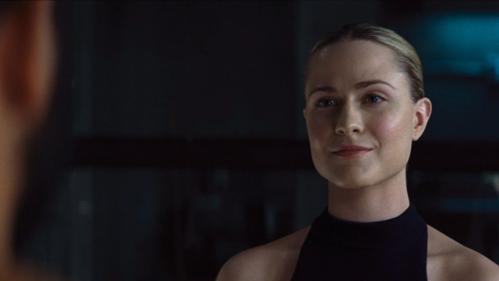 Evan Rachel Wood as Dolores in 'Westworld'
