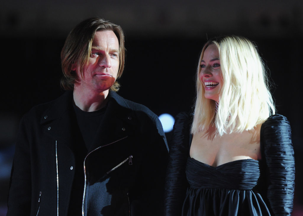 """Ewan McGregor and Margot Robbie at A Night of Music and Mayhem in """"Harleywood,"""" hosted by the cast of 'Bird Of Prey (And The Fantabulous Emancipation Of One Harley Quinn).'"""