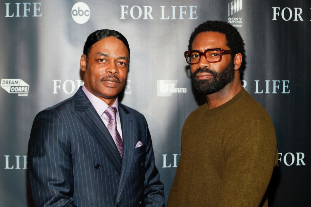 Isaac Wright Jr. and Nicholas Pinnock at 'For Life' event