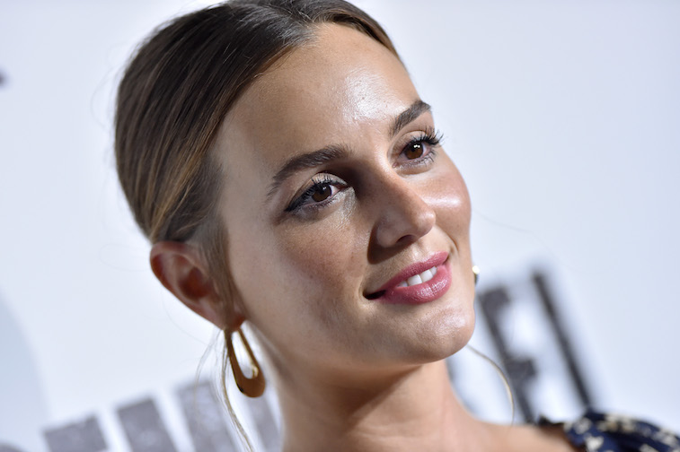 Leighton Meester on the red carpet