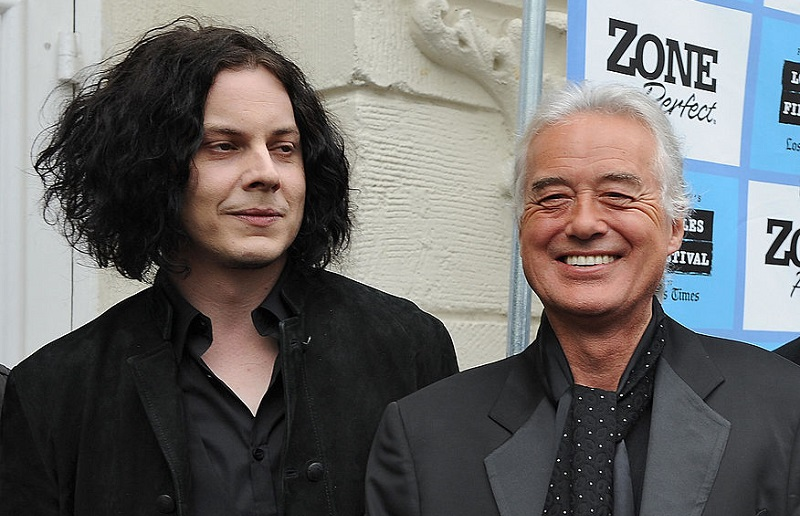 Jack White hears Jimmy Page play a lot in the 2008 documentary, 'It Might Get Loud.'