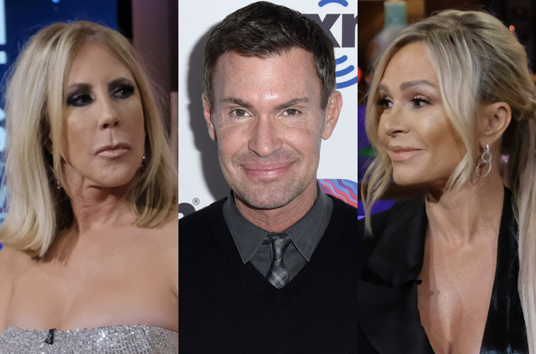 Vicki Gunvalson, Jeff Lewis and Tamra Judge