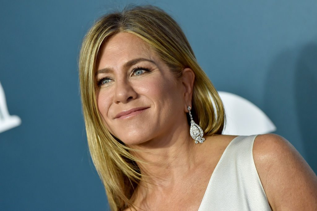 Jennifer Aniston attends the 26th Annual Screen Actors Guild Awards on January 19, 2020