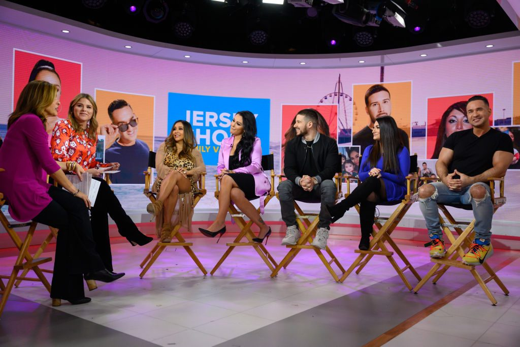 Jersey Shore Family Vacation Cast on Today show