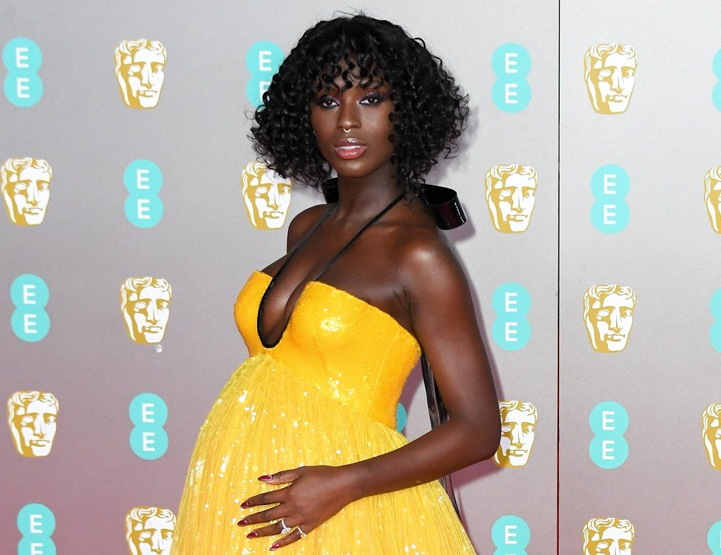 Jodie Turner-Smith attends the EE British Academy Film Awards 2020 at Royal Albert Hall on February 02, 2020 in London, England.