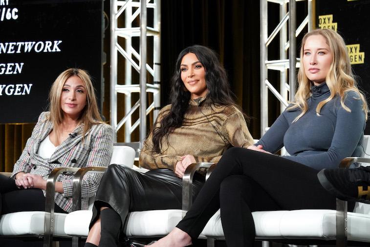 Farnaz Farjam, Kim Kardashian West and Jessica Jackson