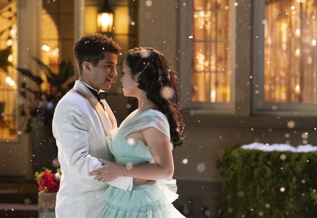 John Ambrose McClaren (Jordan Fisher) and Lara Jean (Lana Condor) dance in 'To All The Boys: P.S. I Still Love You.'